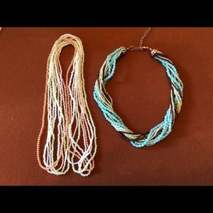 Jewelry - Bundle of seed bead necklaces